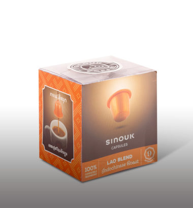 New indochise taste of coffee capsules from sinouk!