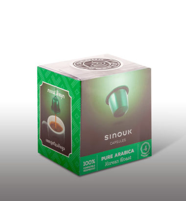 Korean Roast Capsules by Sinouk Coffee