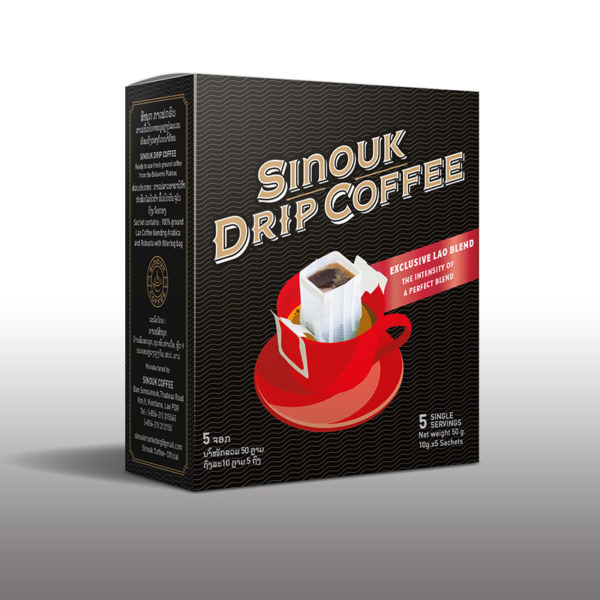 Exclusive Lao Blend by Sinouk Drip Coffee