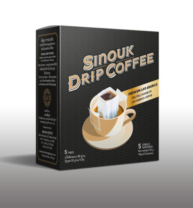 Premium Lao Arabica by Sinouk Drip Coffee