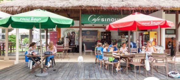 Cafe Sinouk -Institut Francais located in Vientiane