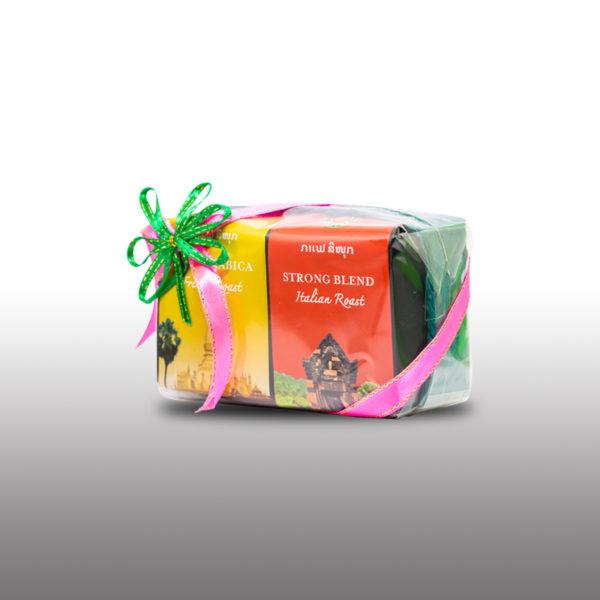 Coffee Souvenirs Giftset*2 by Sinouk Coffee