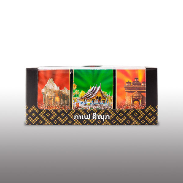 Coffee Souvenirs Giftbox * 3 by Sinouk Coffee