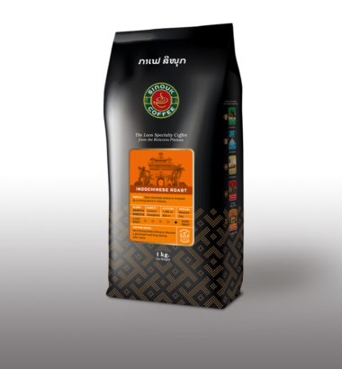Lao Dark Roasted coffee