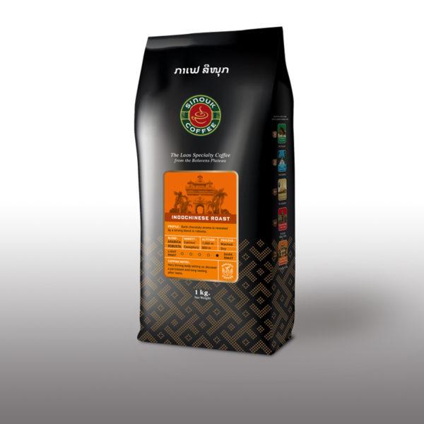 Lao Dark Roasted coffee
