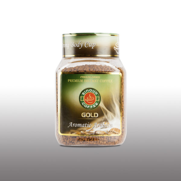 Instant Gold Pure Arabica by Sinouk Coffee