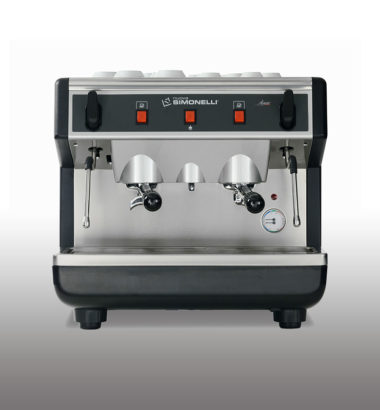 Compact coffee machine from sinouk coffee company in laos