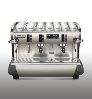 Rancilio coffee machine from Sinouk coffee in Laos