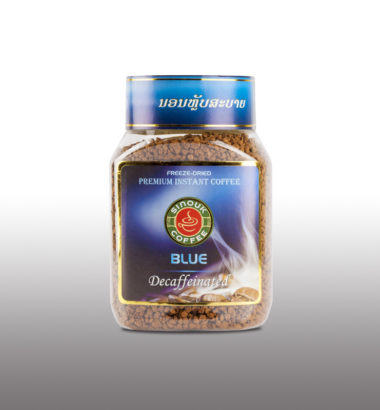 Instant Blue Decaffeinated Arabica by Sinouk Coffee
