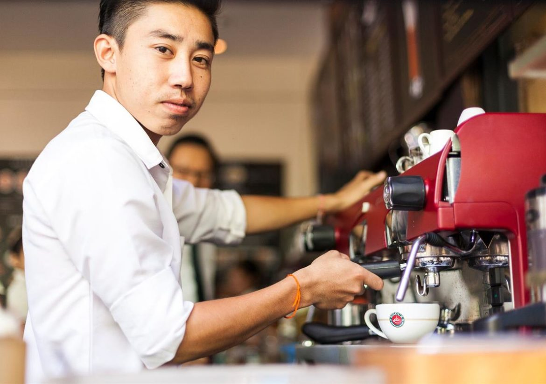 BARISTA CLASS IN SHINOUK COFFEE PAVILION