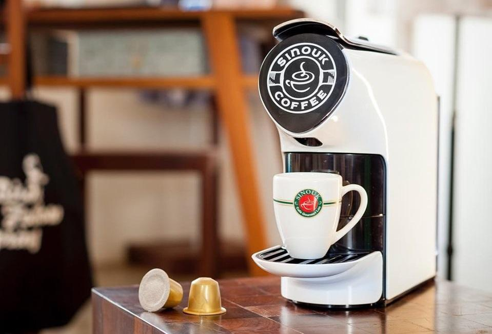 sinouk coffee capsules