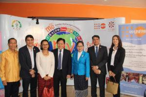 UNFPA Country Representative meeting with Sinouk Coffee Managing Director Sirina