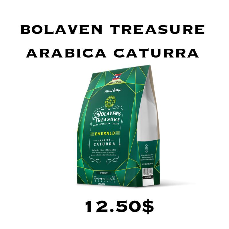 Bolavens Treasure – Emerald Arabica Caturra