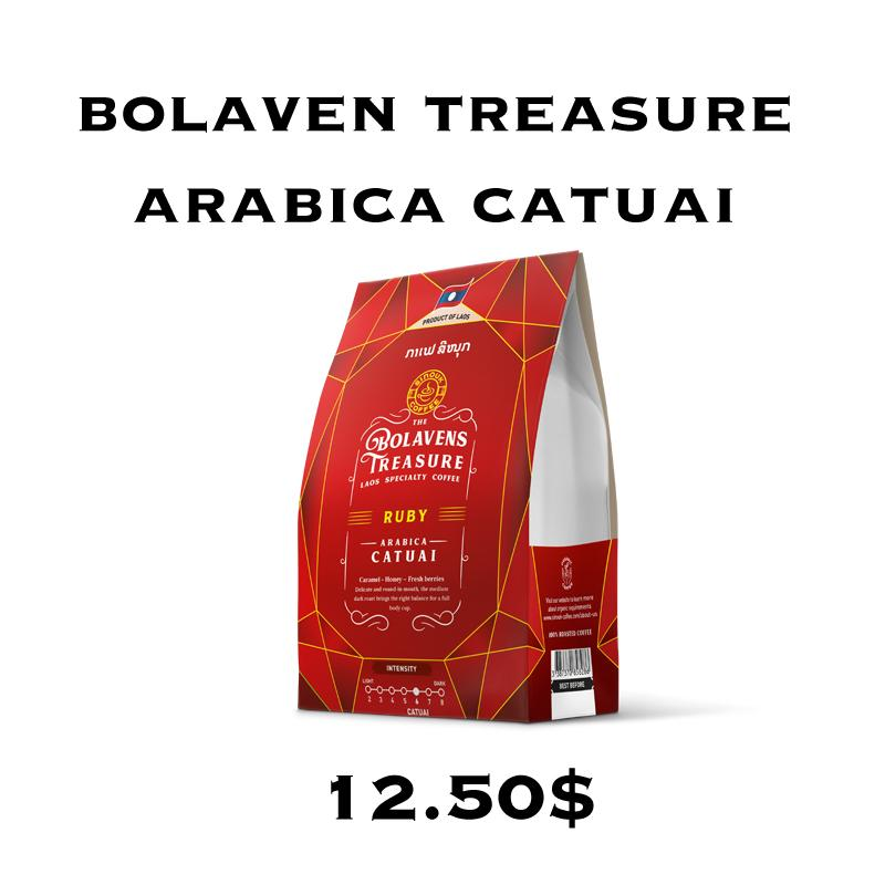 Bolavens Treasure – Ruby Arabica Catuai
