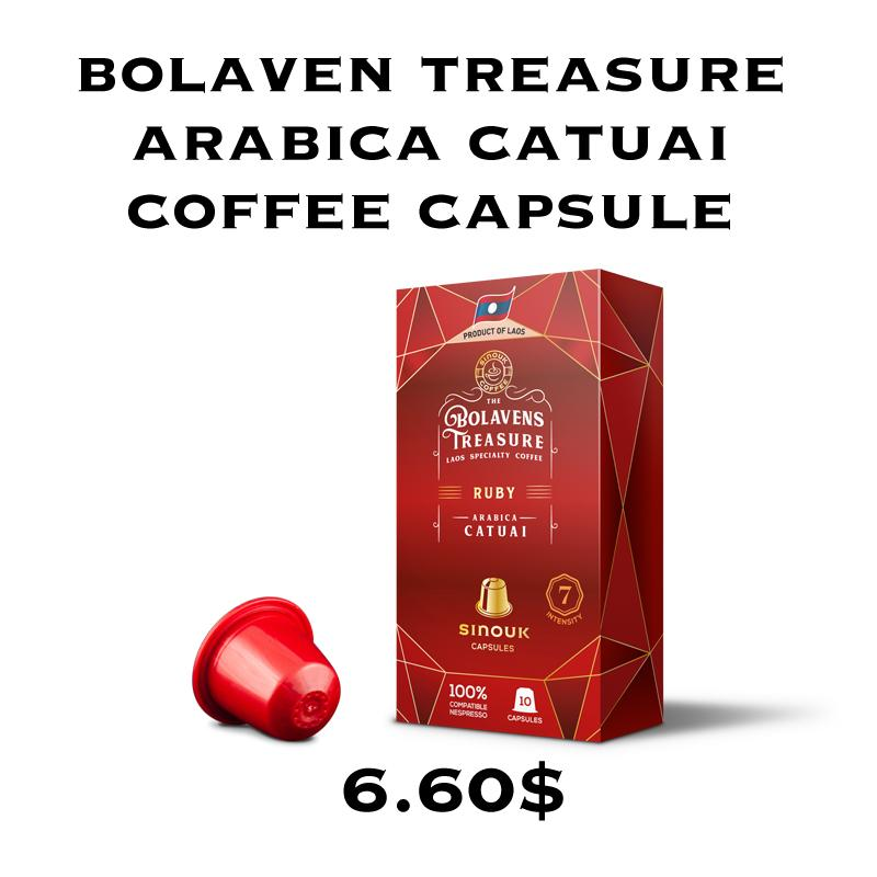 Bolavens Treasure – Ruby Arabica Catuai Capsule