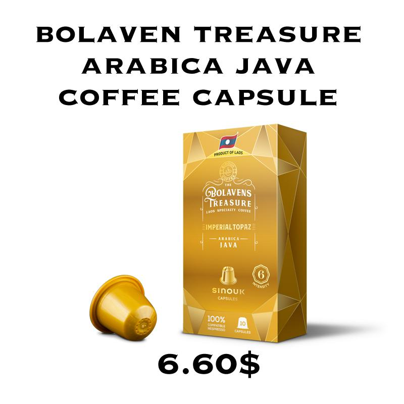 Bolavens Treasure – Imperial Topaz Arabica Java